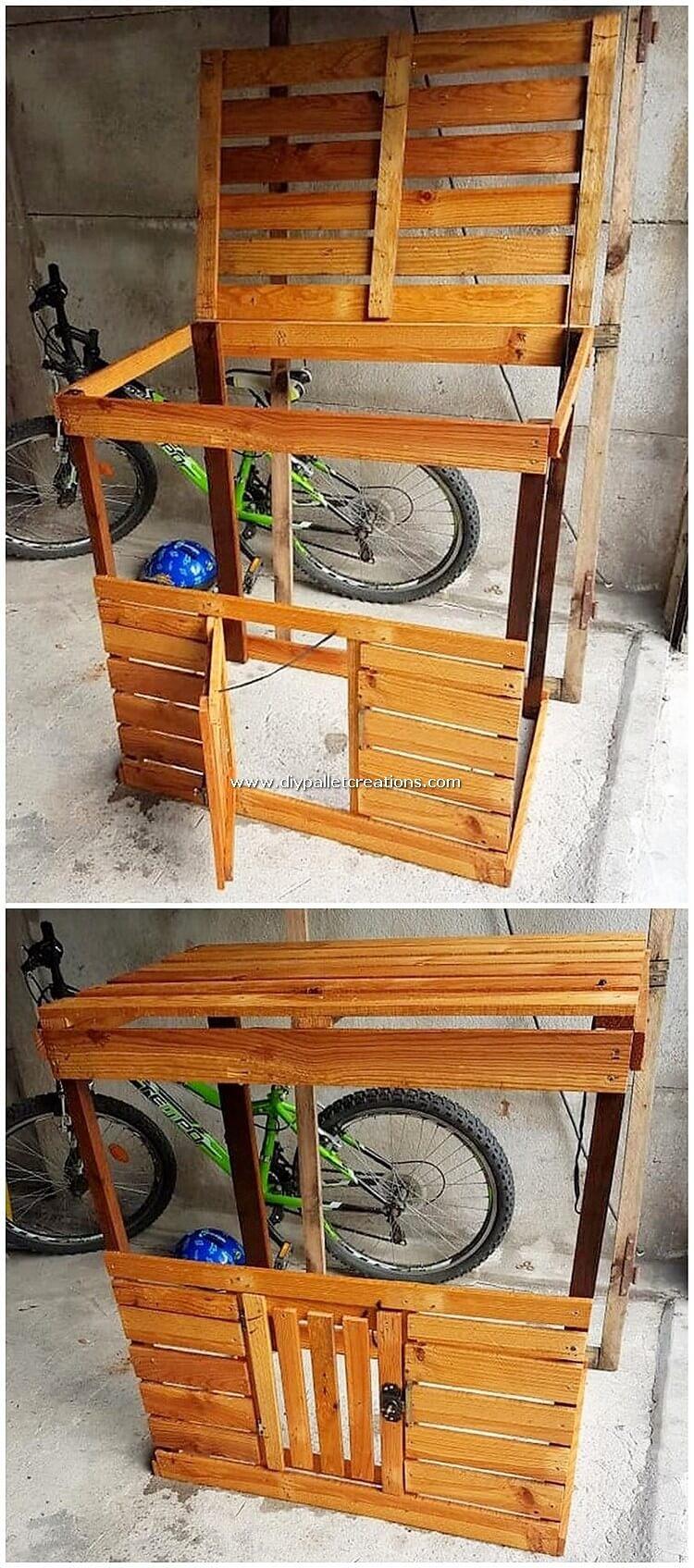 Pallet Cabinet Frame