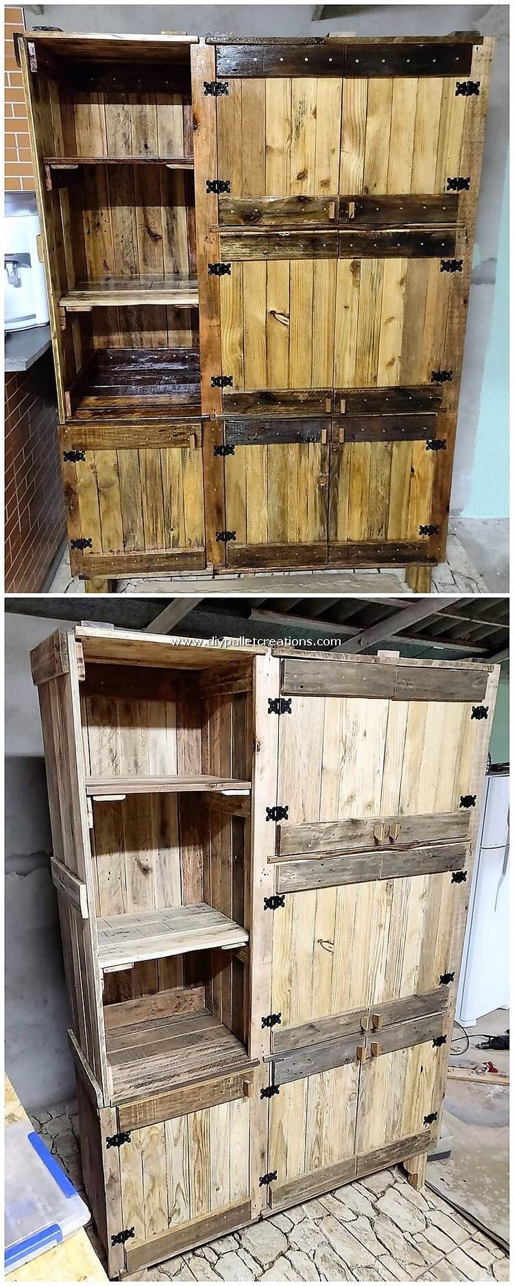 Pallet Cupboard or Cabinet