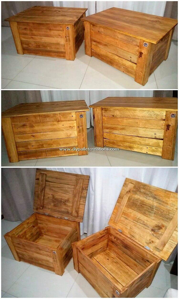 Pallet Storage Boxes