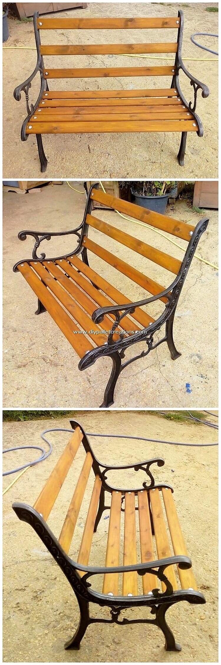 Pallet Wooden Bench