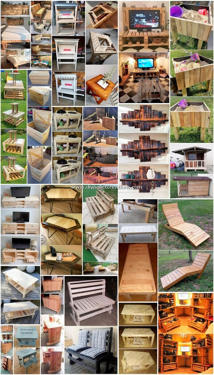 Astound DIY Wood Shipping Pallets Recycling Hacks