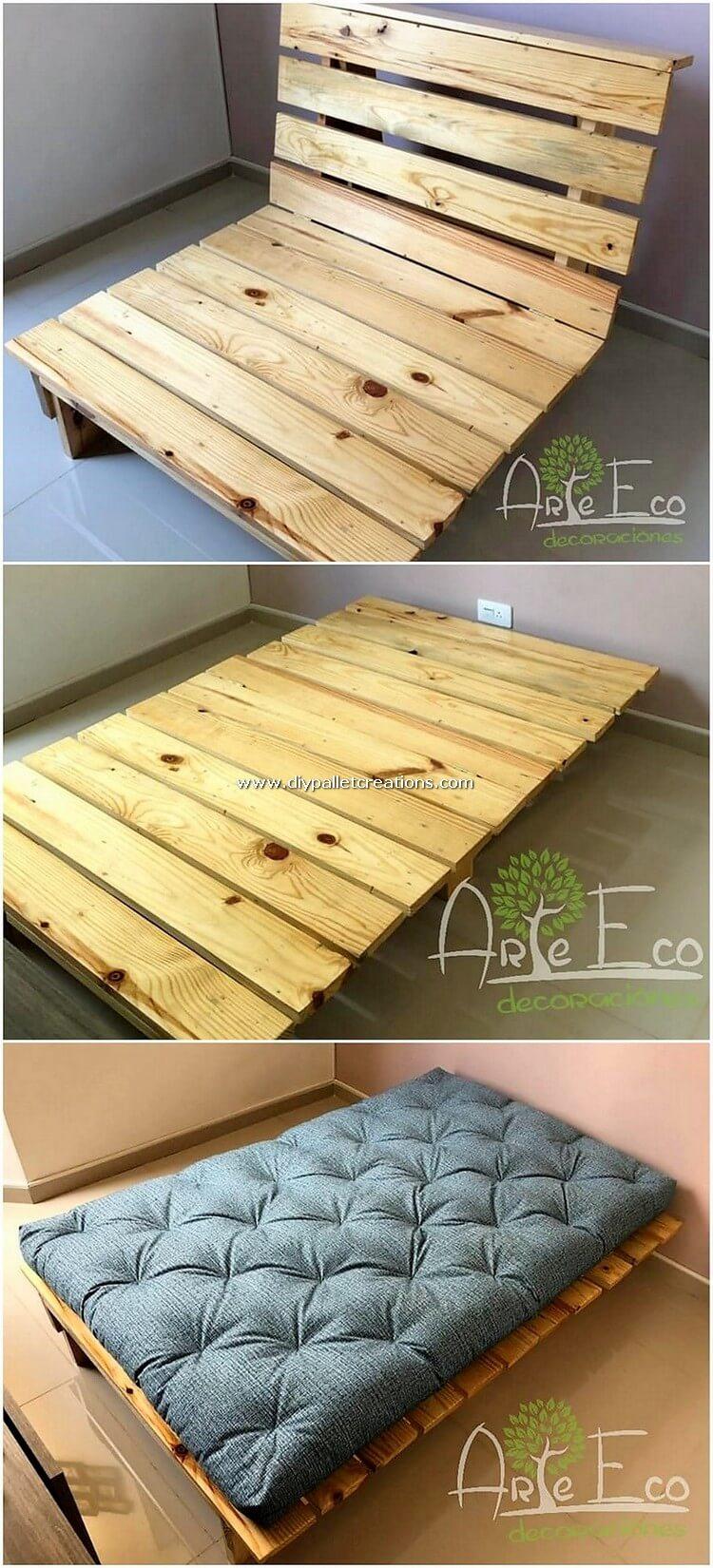 Pallet Folding Bed