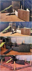 Pallet Ship Playhouse