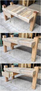 Pallet Table wih Drawer