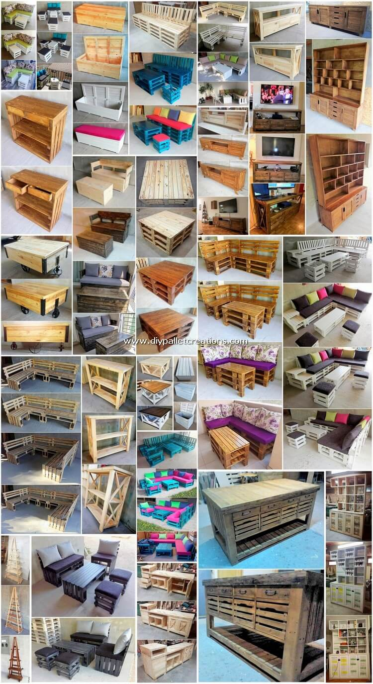 Wonderful Wooden Pallet Creation for Your House
